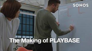 Sonos PLAYBASE - Black - The Soundbase for Theatre-Quality Sound