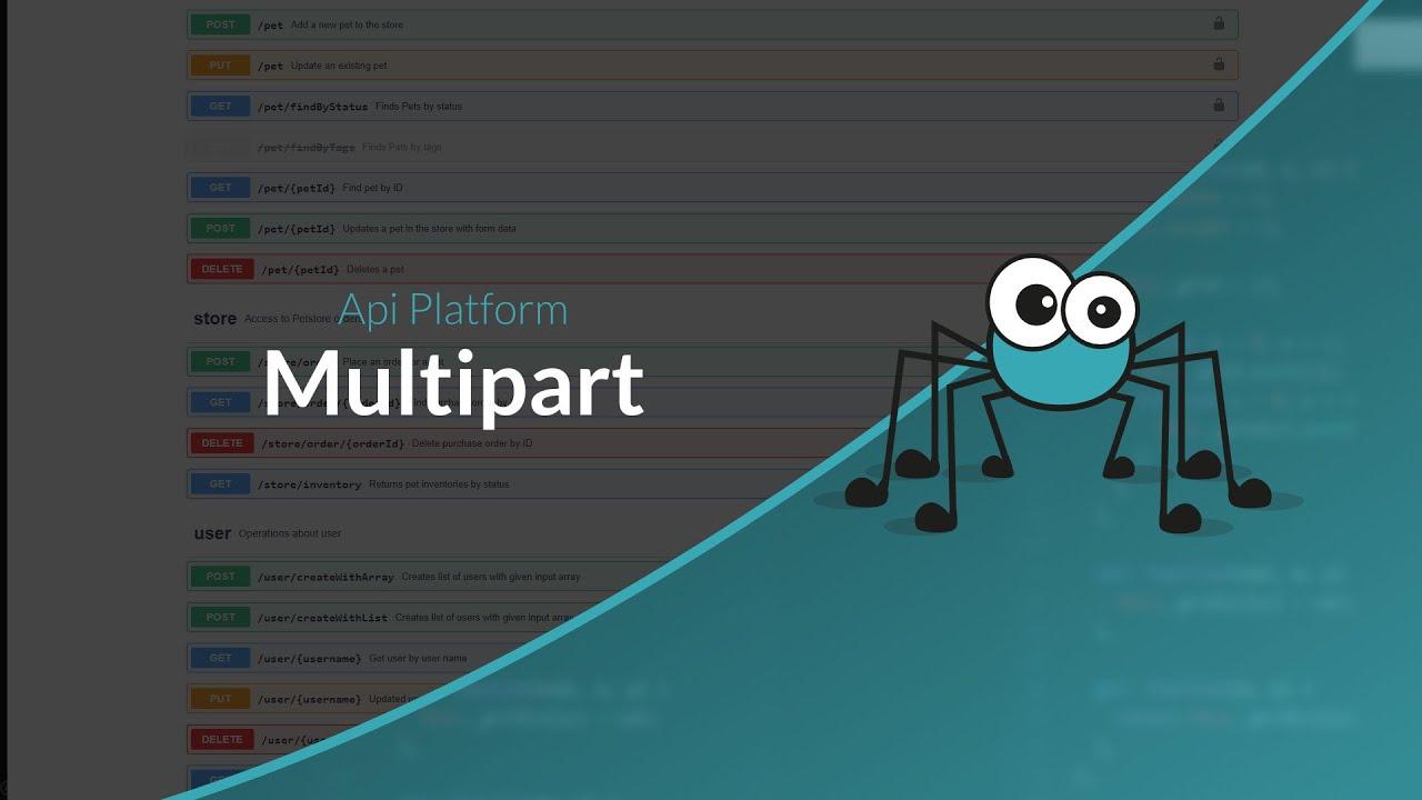 Tutoriel API Platform : Désérialiser du multipart