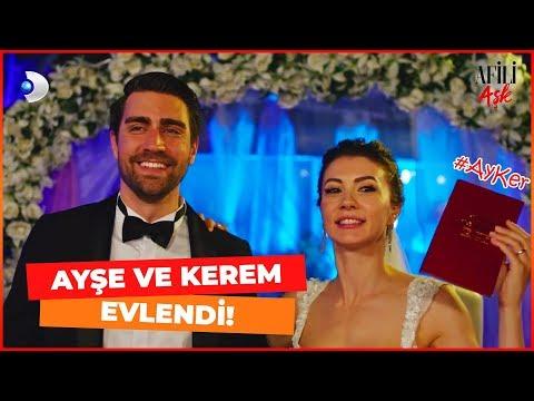 AYŞE Ve KEREM EVLENDİ - Afili Aşk 3. Bölüm #AyKer
