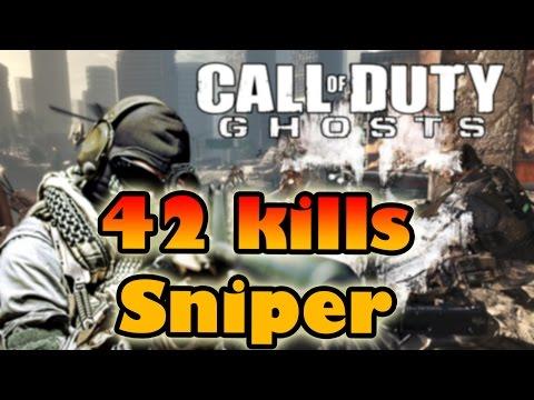 COD Ghosts | 42 kills sniper hablando del nuevo COD