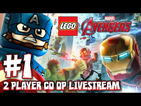 LEGO Marvel Avengers - Part 1: 2 Player Co-Op Livestream