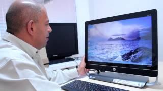 Unboxing: HP ENVY 23 TouchSmart
