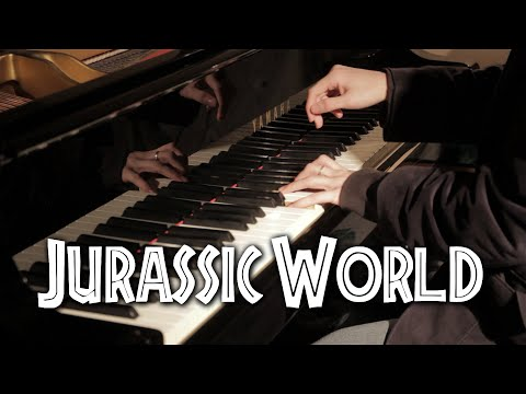 Jurassic Park - Main Theme - Epic Piano Solo | Léiki Uëda
