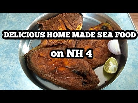 BEST HOME MADE SEA FOOD ON NH 4   PUNE TO MUMBAI