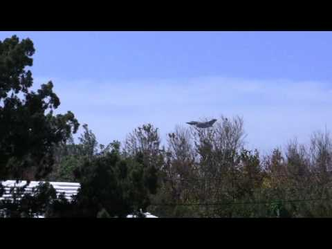 Military Aircraft Departing Bermuda Apr 27 2012