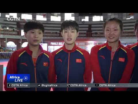Taekwondo Team Championships: China claim two of three titles available in Cote d'Ivoire