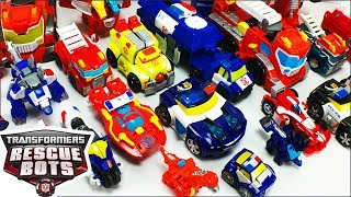 Transformers Rescue Bots Toys Collection Heatwave The Fire Bot Chase The Police Bot Kevs Toy Fun Vid