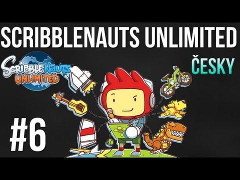 """Let's Play Česky - Scribblenauts unlimited 6. Díl """"Stroj času"""""""