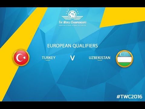 CS:GO - Turkey vs. Uzbekistan [Train] - TWC 2016