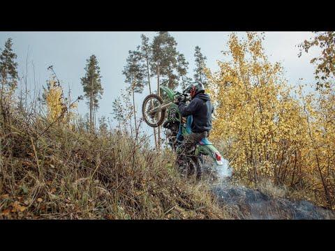Эндуро трасса — Тверь | Переезд препятствий и исчезновение Kawasaki