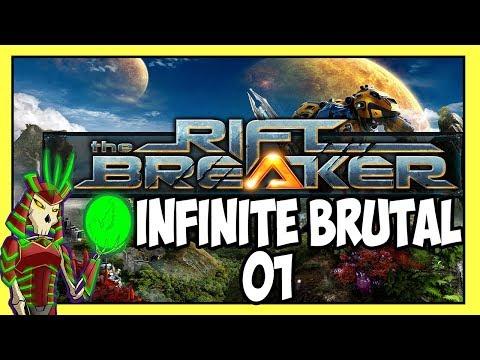 THE RIFTBREAKER | Infinite Brutal Survival Mode 1 | Sci-Fi They Are Billions Meets Factorio |