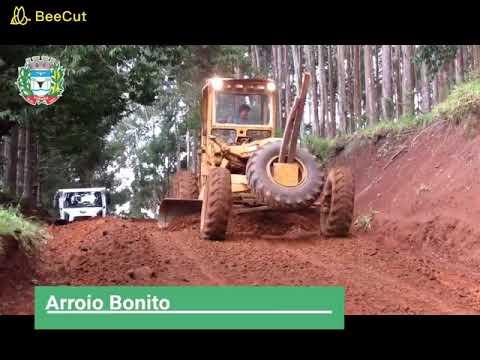 Cascalhamento de Estradas Rurais em Pinhão - Paraná