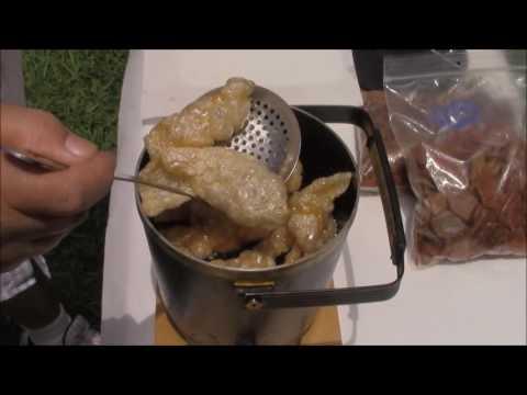 pork-skins-on-the-bayou-using-rudolph's-pork-rind-pellets!