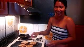 Best Fast Reuben sandwich recipe   Heather Deep Donny Long sexy cooking show