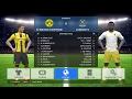 PES 2017 BORUSSIA DORTMUND VS LONDON FC(CHELSEA) GAMEPLAY