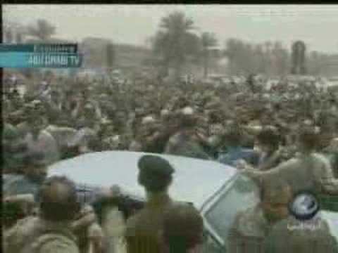 """Saddam"" Last Public Appearance April 09, 2003"