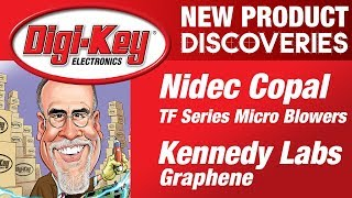 Kennedy Labs and Nidec Copal New Product Discoveries Episode 18 | DigiKey