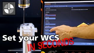 How to set a work offset quickly and easily using Set and Inspect on a Mazak controller