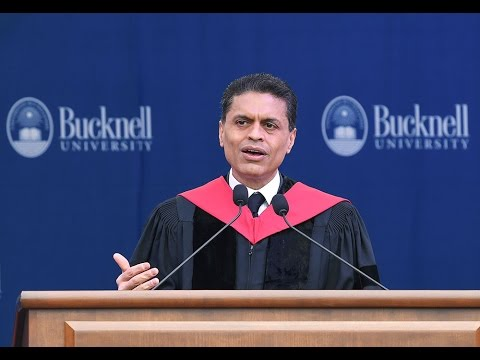 Fareed Zakaria Gives Bucknell University's 2017 Commencement Address