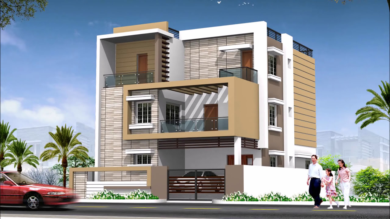 Modern home exterior design ideas 2017 youtube for Best exterior home designs in india