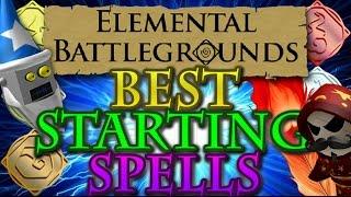 Elemental Battlegrounds BEST STARTER STRATEGY! | Roblox