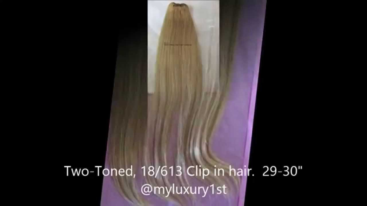 29 30 Inch Remy Human Clipin Hair Extensions 18613 Youtube