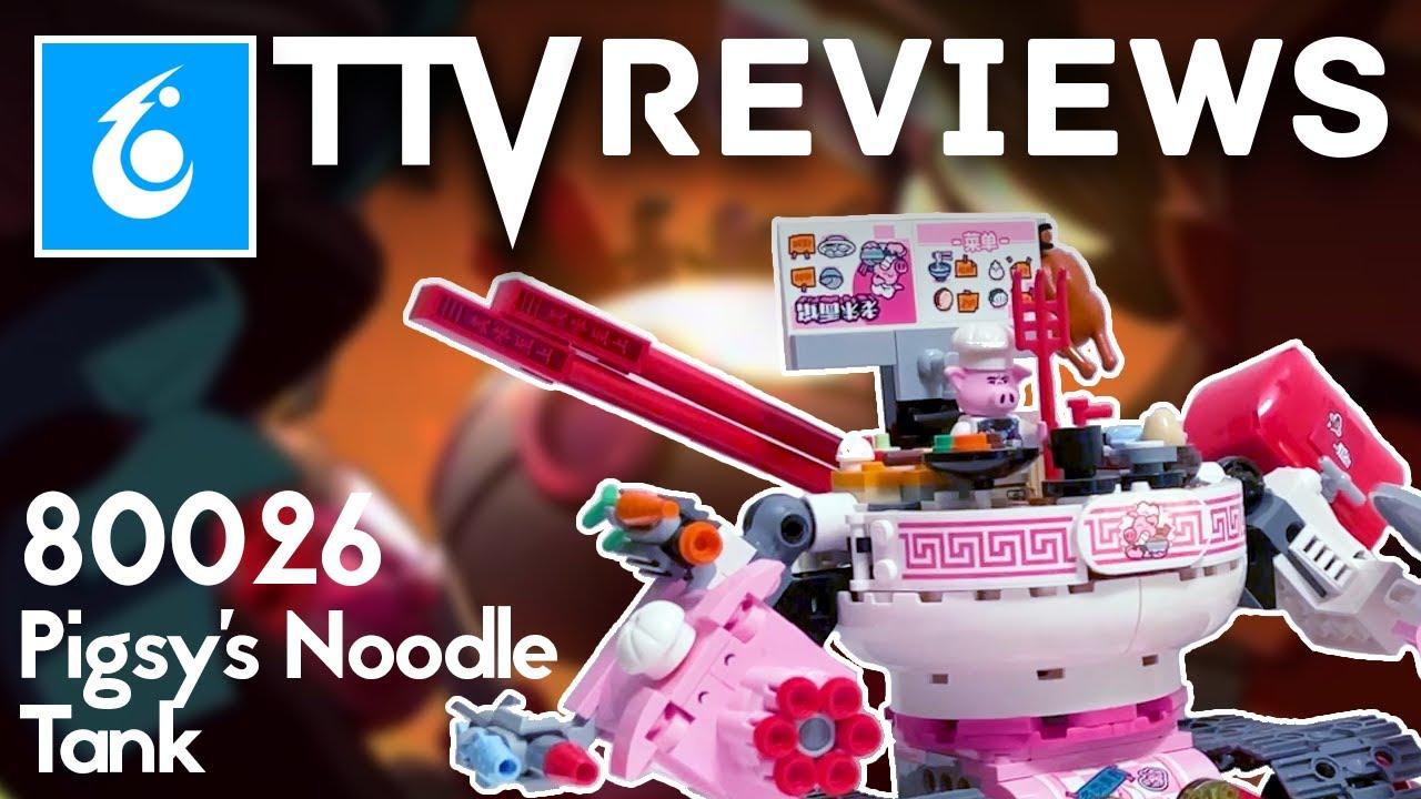 MONKIE KID 2021 Set Review - 80026 Pigsy's Noodle Tank
