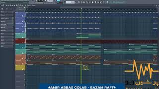 Amir Abbas Golab - Bazam Raft [Instrumental Beat] بیت امیرعباس گلاب بازم رفت