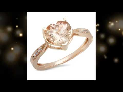Rose Gold Heart Shaped Diamond Engagement Ring Review