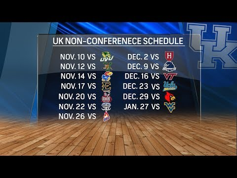 Matt and Mary Jo Talks UK's Basketball Schedule