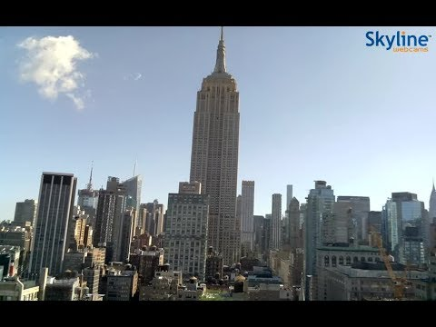 Live Webcam from New York - The Empire State Building