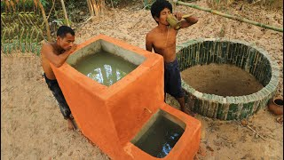 How To Build Water Filter Tank To Clean Underground Water