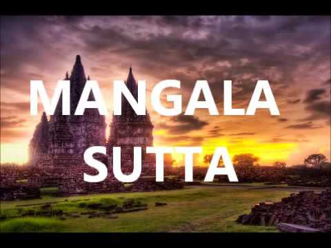 Mangala sutta..the greatest blessing..