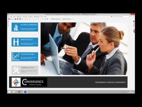 Digital Convergence Business Relationship Management (BRM) & IT Value Optimization mApp Demo