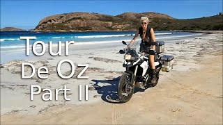 Solo Female Ride Around Australia -Tour De Oz 2/2 - On Her Bike .com