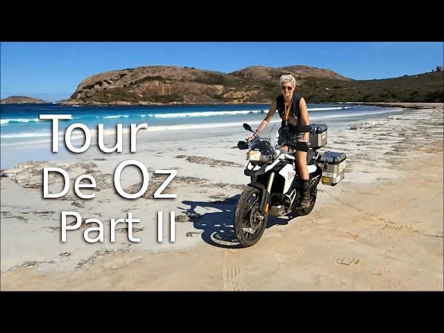 Solo Female Ride Around Australia -Tour De Oz 2/2 - On Her Bike .com