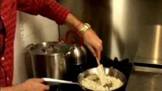 How to Make Gourmet Borscht : Sauteing Onions for Borscht