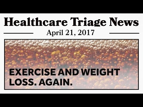 Exercise, Weight Loss, and Big Soda