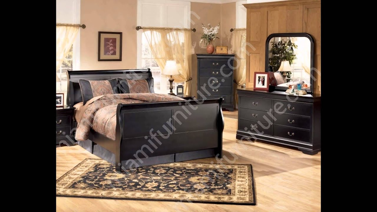 Ashley Furniture Bedroom Sets | Ashley Bedroom Furniture - YouTube