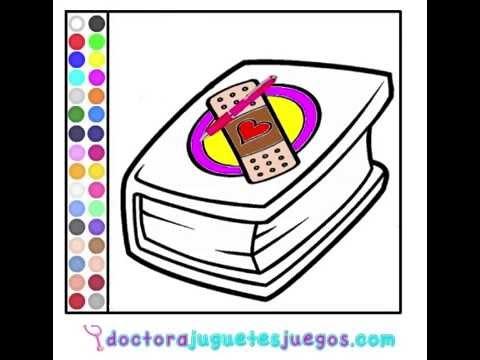 Juego: Colorear Gran Libro de Pupas - YouTube