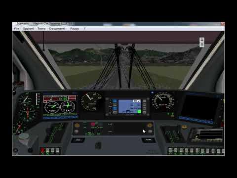 Simulatore treno - REG 3739 Napoli C.le - Salerno (Parte 2/2)