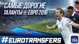 Самые дорогие таланты Евро 2016!