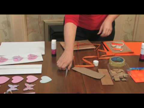 How to Make Recycled Greetings Cards - Sustainable Somerset.mov