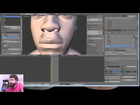#Blender #WIP #Live #John Boyega #Finn#2