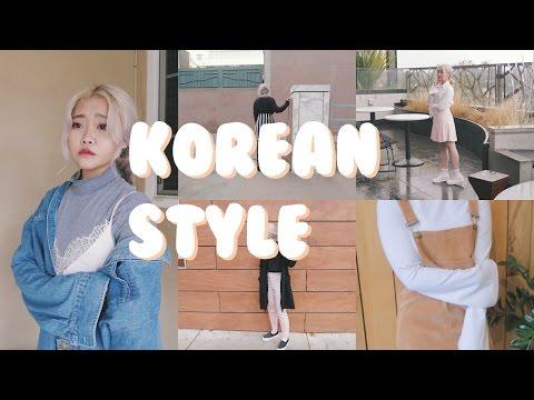Korean Winter Street Style Inspired Lookbook ♡
