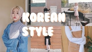 Korean Winter Street Style Inspired Lookbook ♡