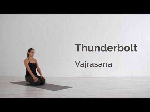 Thunderbolt Pose (Vajrasana) Tutorial
