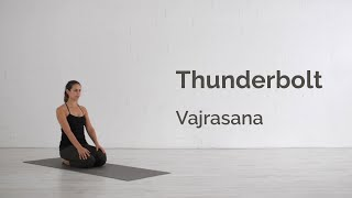 Thunderbolt Pose (Vajrasana) Tutorial
