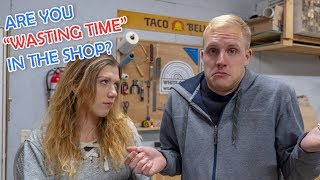 Stop Wasting Time in the Shop - Start Making Money Woodworking