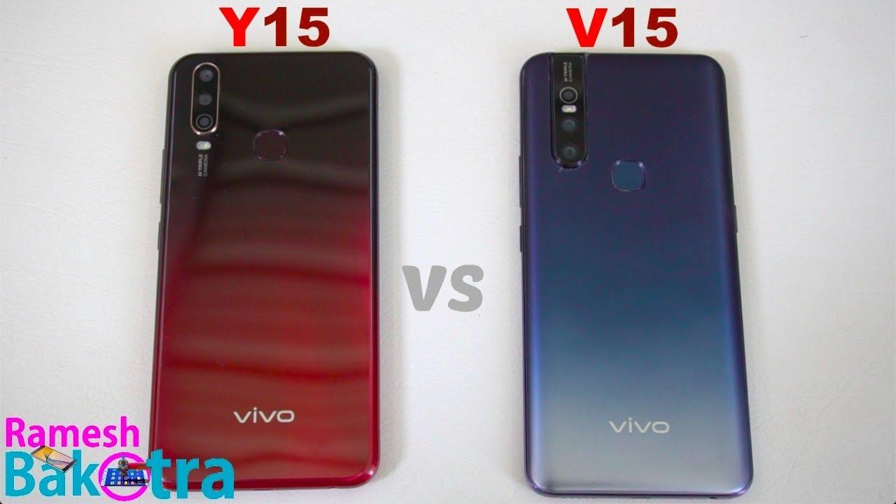 Vivo Y15 Vs V15 Speedtest And Camera Comparison
